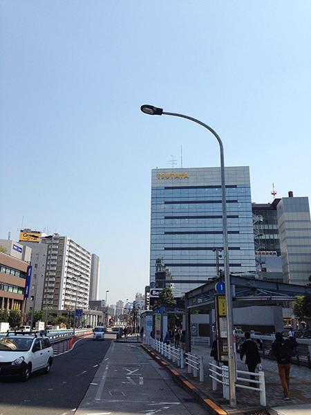 TSUTAYA中目黒店様に向かい歩いてください.jpg